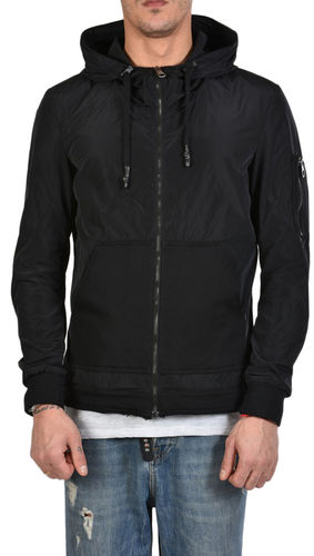 Xagon Man Jacket Pcardi Regular Fit Black