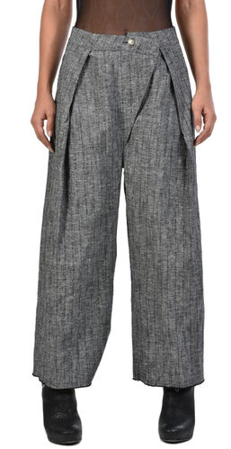 La Haine Inside Us Trouser Cois Cotton Linen
